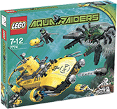 Схемы и инструкции LEGO Aquazone - Crab Crusher (Крабодробилка) - Lego Aquazone 7774