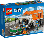 Схемы и инструкции LEGO City - Garbage Truck (Мусоровоз) - Lego City 60118