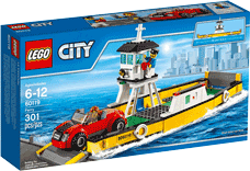 Схемы и инструкции LEGO City - Ferry (Паром) - Lego City 60119