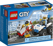 Схемы и инструкции LEGO City - ATV Arrest (Полицейский квадроцикл) - Lego City 60135