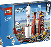 Схемы и инструкции LEGO City - Space Center (Космодром) - Lego City 3368