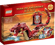 Схемы и инструкции LEGO Creator - Year Of The Snake (Год змеи) - Lego Creator 10250