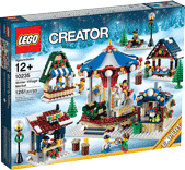 Схемы и инструкции LEGO Creator Exclusive - Winter Village Market (Зимняя ярмарка в деревне) - Lego Creator Exclusive 10235