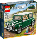 Схемы и инструкции LEGO Creator Exclusive - MINI Cooper (Мини Купер) - Lego Creator Exclusive 10242