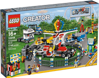 Схемы и инструкции LEGO Creator Exclusive - Fairground Mixer (Ярмарочная площадь) - Lego Creator Exclusive 10244