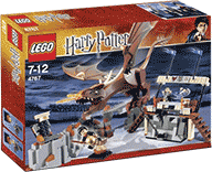 Схемы и инструкции LEGO Harry Potter - Harry and the Hungarian Horntail (Гарри и Венгерский Рогохвост) - Lego Harry Potter 4767