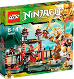 Схемы и инструкции LEGO NinjaGo - Temple of Light (Храм Света) - Lego NinjaGo 70505