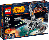 Схемы и инструкции LEGO Star Wars - B-Wing (Истребитель B-Wing) - Lego Star Wars 75050