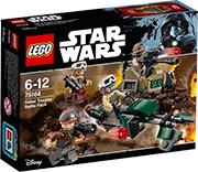 Схемы и инструкции LEGO Star Wars - Rebel Trooper Battle Pack (Боевой набор Повстанцев) - Lego Star Wars 75164
