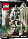 Схемы и инструкции Lego Star Wars - Imperial AT-ST (Имперский AT-ST) - Lego 7127