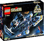 Схемы и инструкции Lego Star Wars - TIE Fighter and  Y-wing (Звездные истребители TIE Fighter и  Y-wing) - Lego 7150