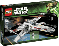 Схемы и инструкции LEGO Star Wars - Red Five X-wing Starfighter (Истребитель X-wing) - Lego Star Wars 10240