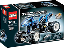 Схемы и инструкции LEGO Technic - Quad Bike (Квад-байк) - Lego Technic 8282